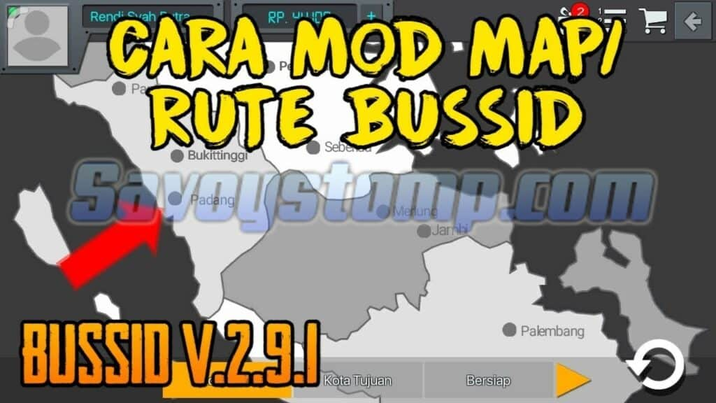 Desain Map Bussid Ala Indonesia