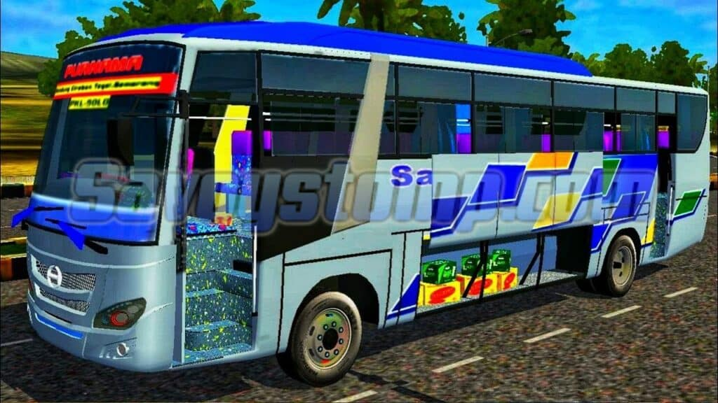 Gameplay Bus yang Lebih Detail