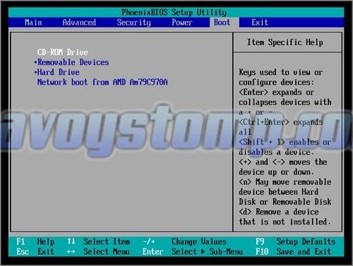 Kamu akan menuju menu BIOS , tekan tombol arah kanan pada keyboard untuk masuk ke tab Boot