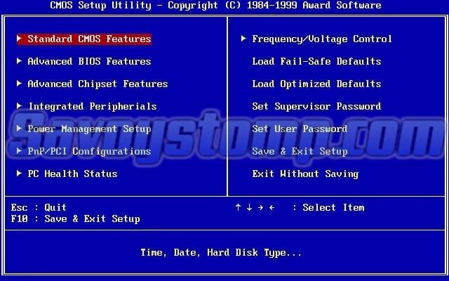 cara-install-windows-10 dengan Mengembalikan Pengaturan BIOS