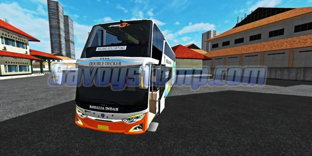 Model buss Khas Indonesia