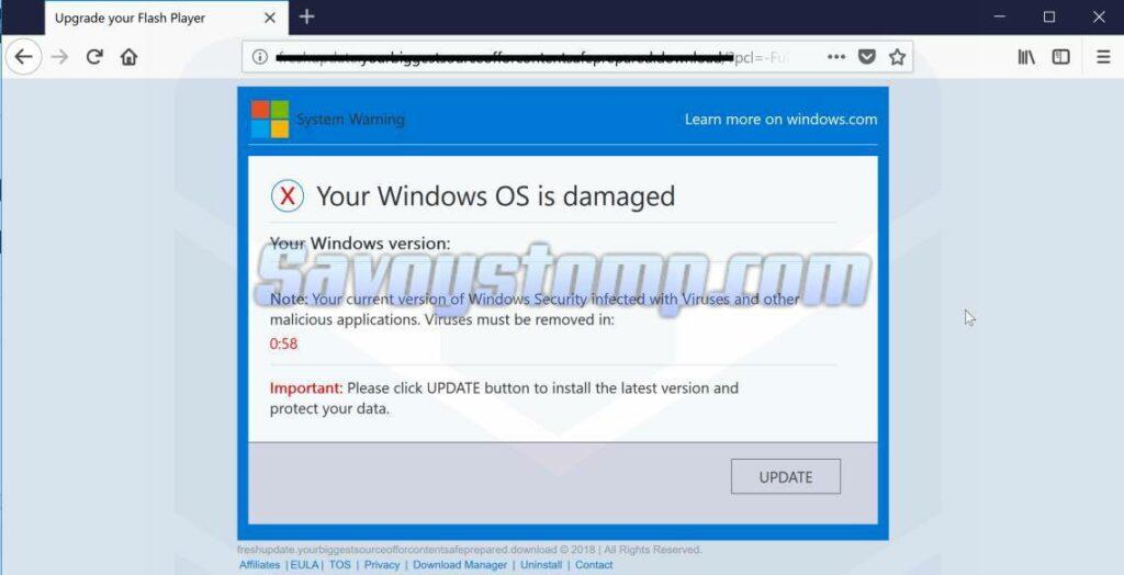 Peringatan untuk Menginstall Versi Full Windows 10