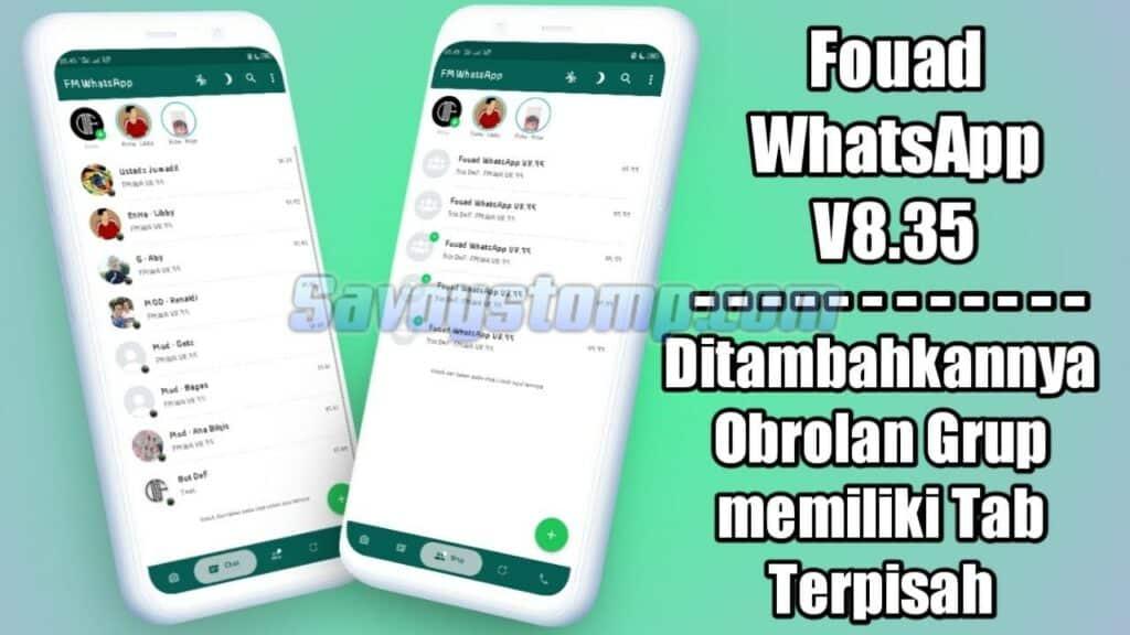 Review Aplikasi Fouad Whatsapp