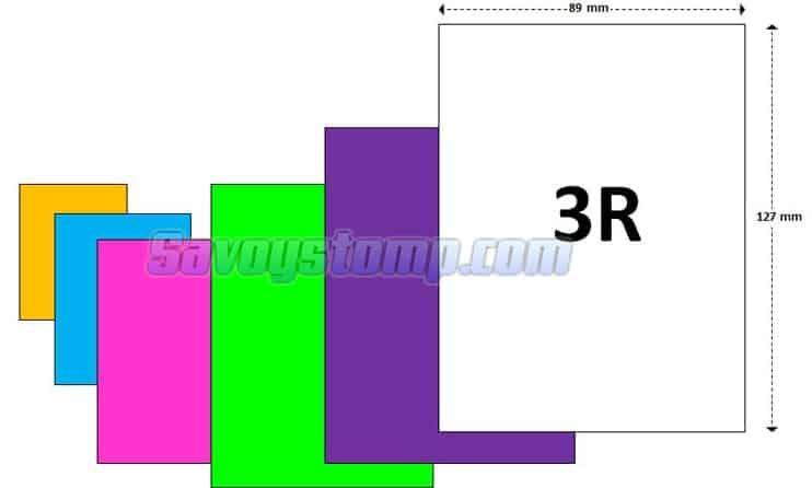 ukuran foto 3r dalam pixel