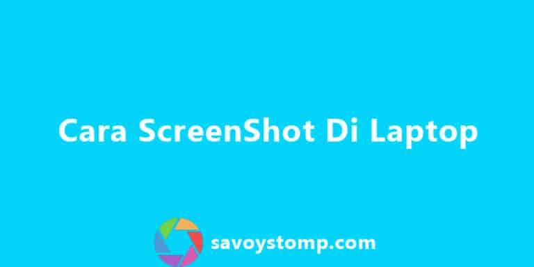 Featured Image Cara Screenshot Di Laptop