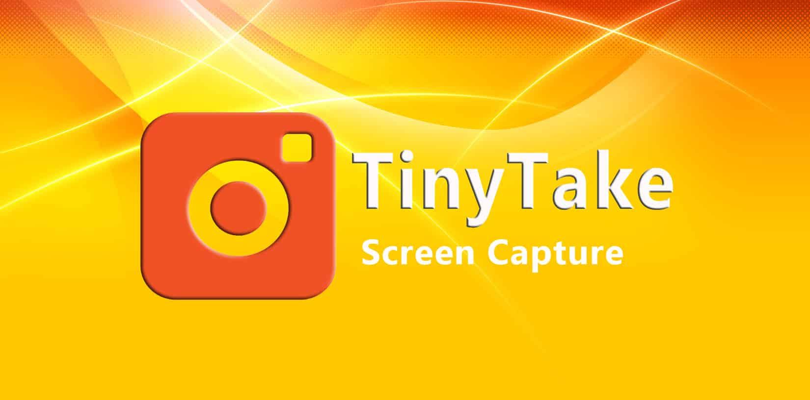 TinyTake - Screen Capture