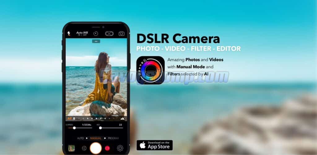 DSLR-Camera-Blur