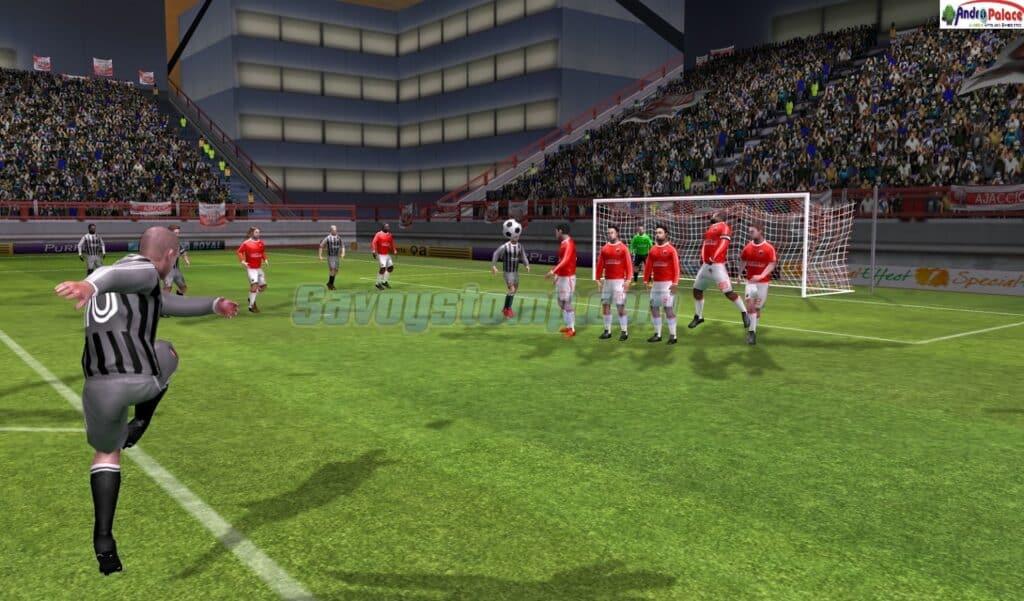 Gameplay-dream-league-apk-mod-Realistik