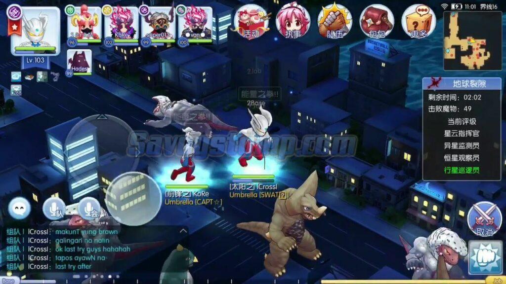 Karakter-Monster-Ultraman Orb Mod APK yang-Baru