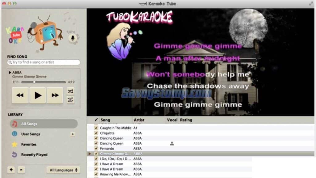 Karaoke-Tube