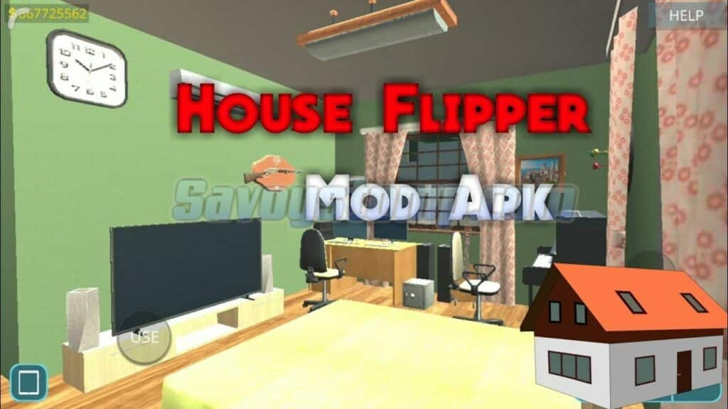 Perbedaan-House-Flipper-Mod-APK-Original-dan-Mod