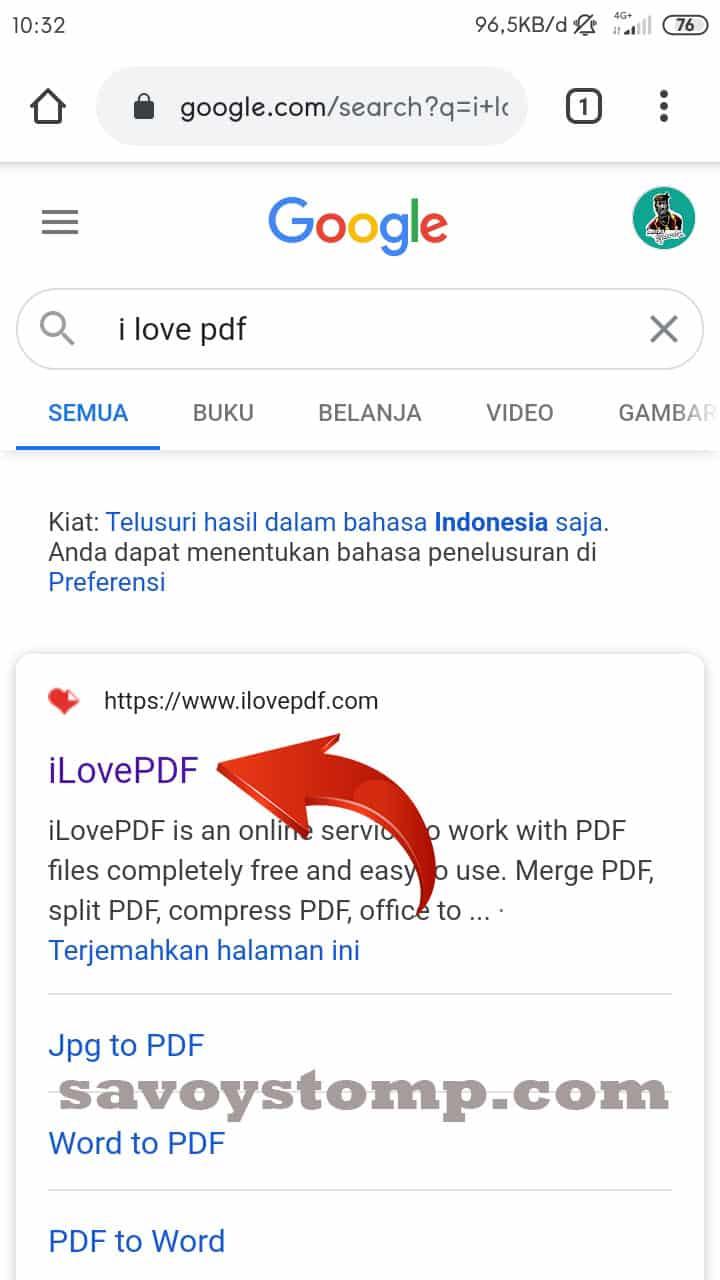 Pilih ilove pdf