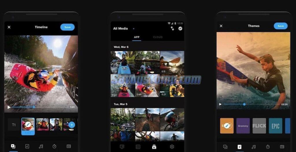 Aplikasi Pemotong Video Quik