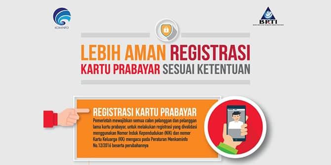 Cara Registrasi Kartu Operator Seluler Telkomsel