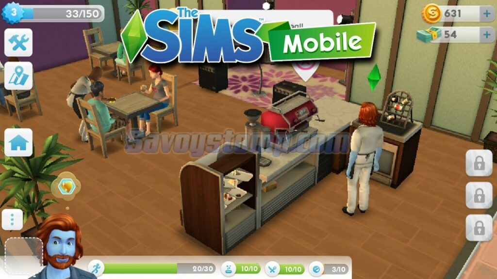 Review the sims