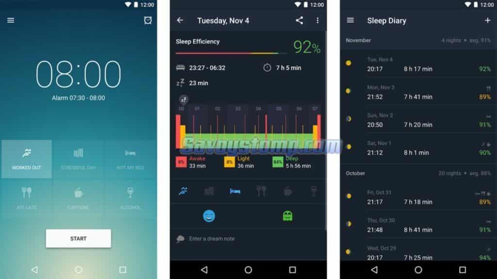Sleep-Monitor Aplikasi Keluarga Sehat