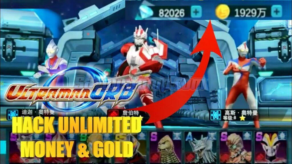 Ultraman Orb Mod APK Unlimited-Diamond-Gold