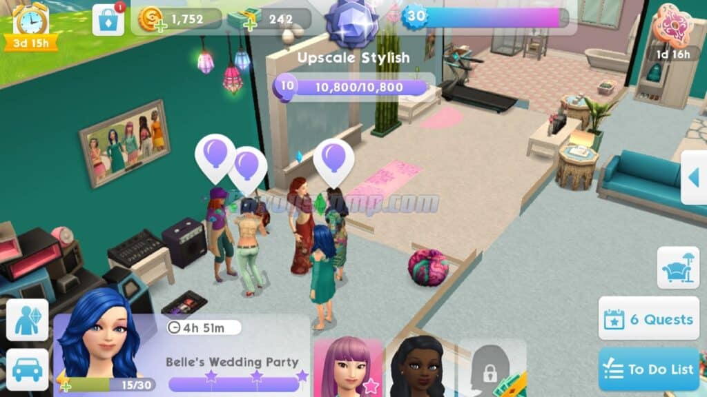 The Sims Mobile Unlimited-Social-Points