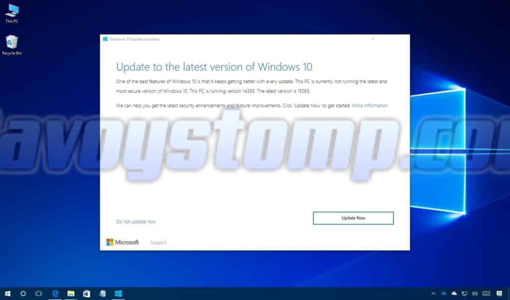 Cara Update Windows 10 dengan Update-Assistant