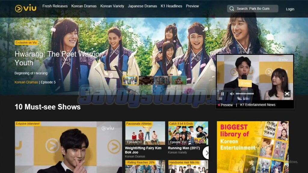 Nonton Drama Korea melalui VIU