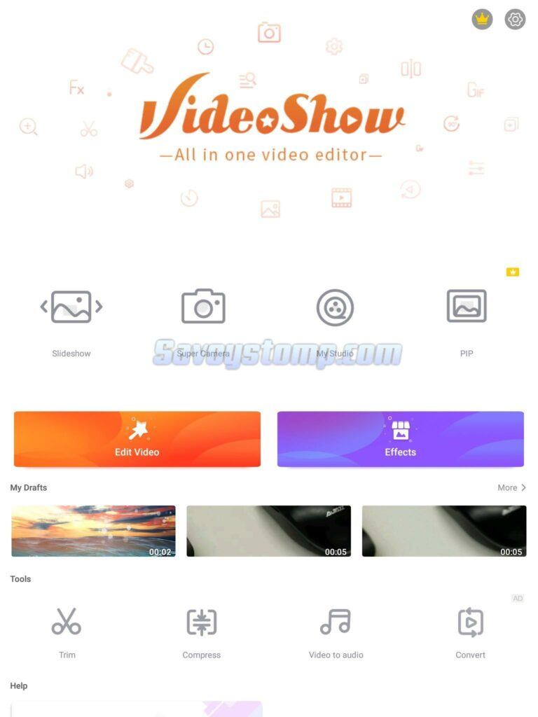 Aplikasi Video Bokeh Videoshow
