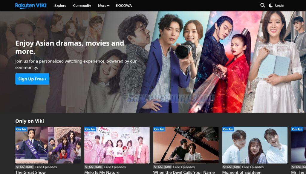 Nonton Drama Korea menggunakan Viki