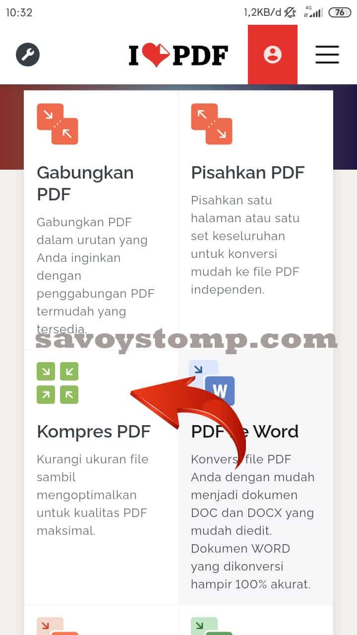 scroool kebawah pilih pdf