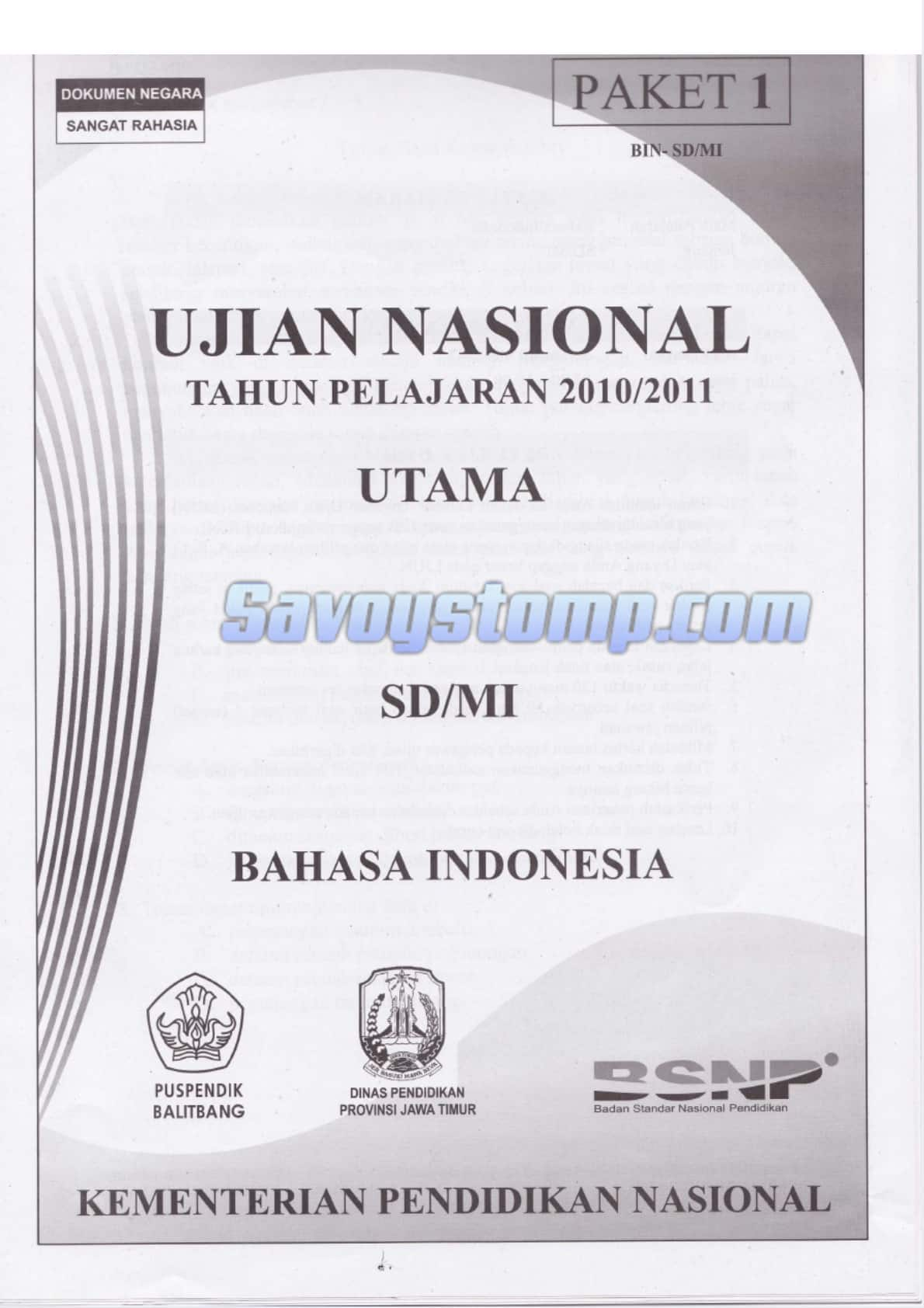 Belajar-Contoh-Soal-UN-Bahasa-Indonesia-SD-dengan-Kurikulum-13