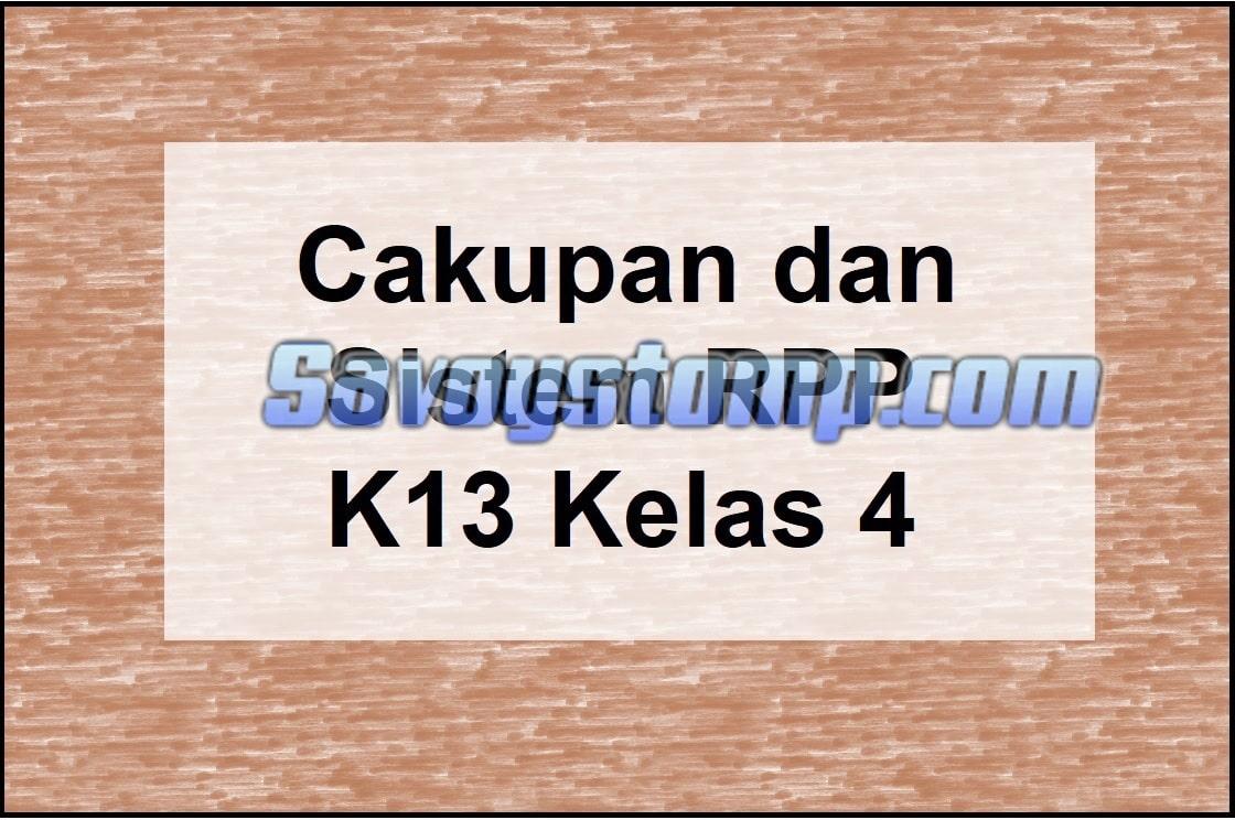 Cakupan-dan-Sistem-RPP-K13-Kelas-4-beserta-Link-Downloadnya