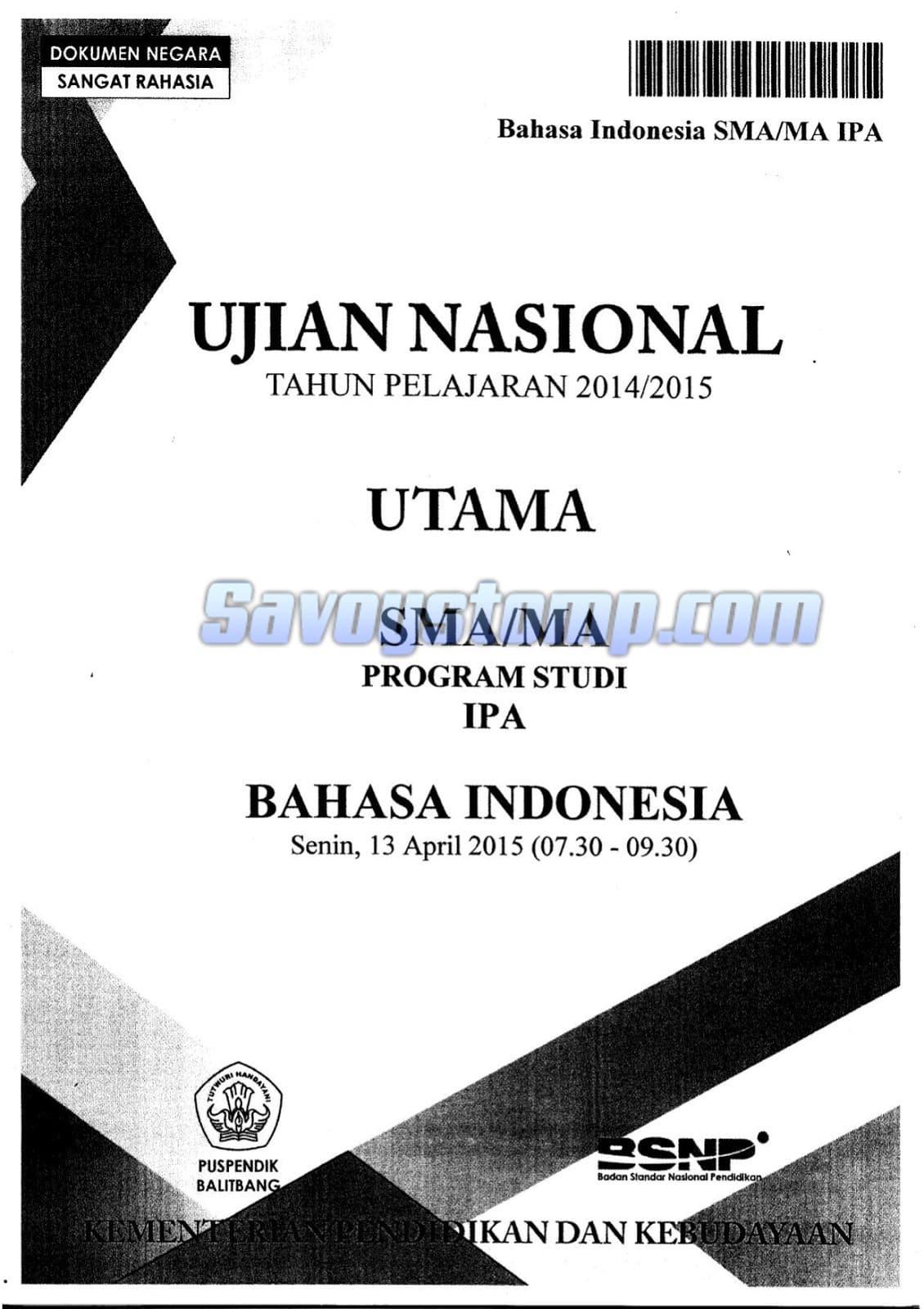 Contoh-Soal-UN-Bahasa-Indonesia-SMA-beserta-Pembahasan-Lengkap