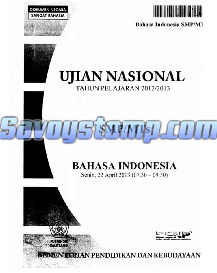 Contoh-Soal-UN-Bahasa-Indonesia-SMP-beserta-Pembahasan-sebagai-Persiapan-Menghadapi-Ujian-Nasional