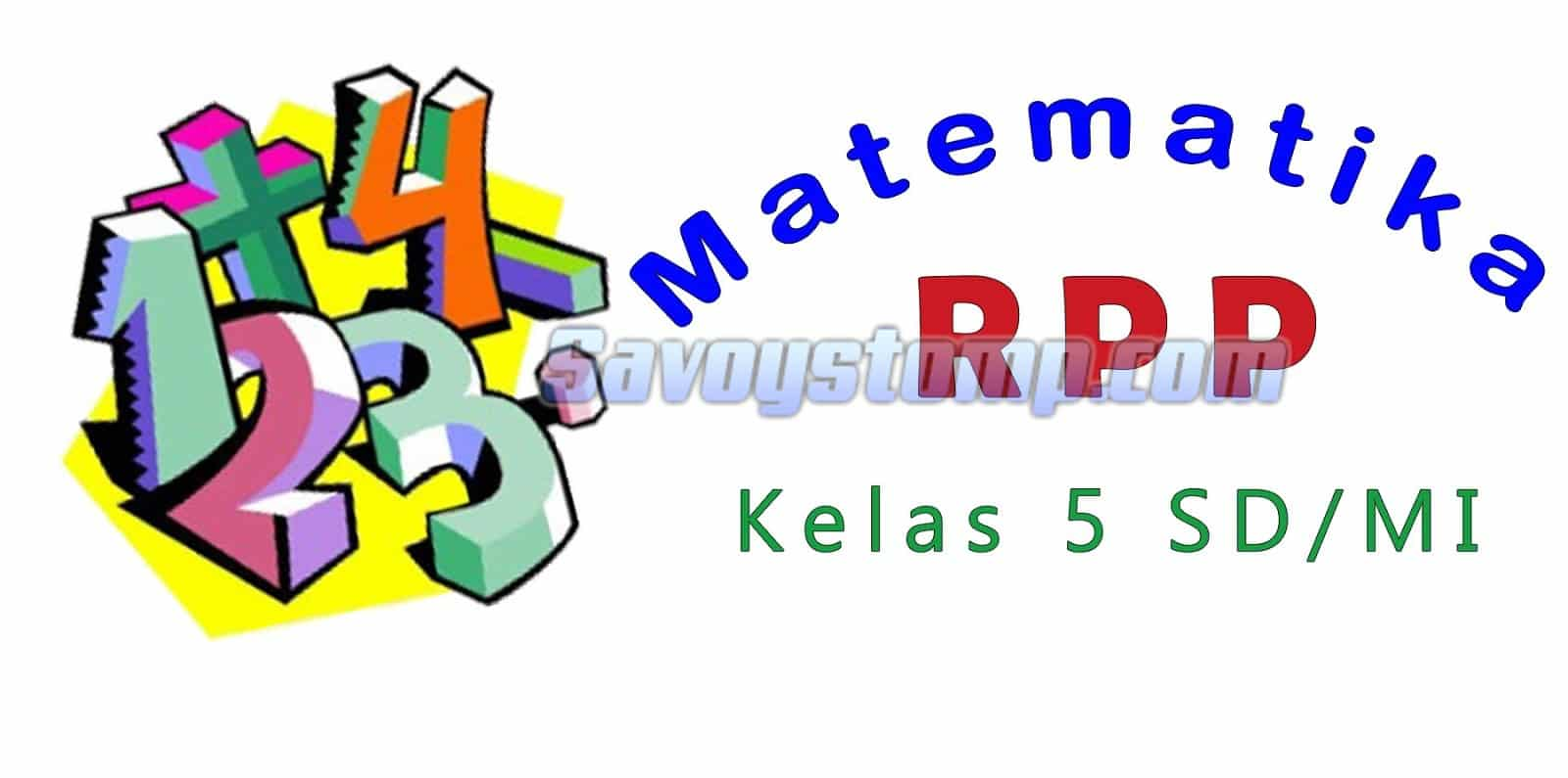 RPP-Matematika-Kelas-5
