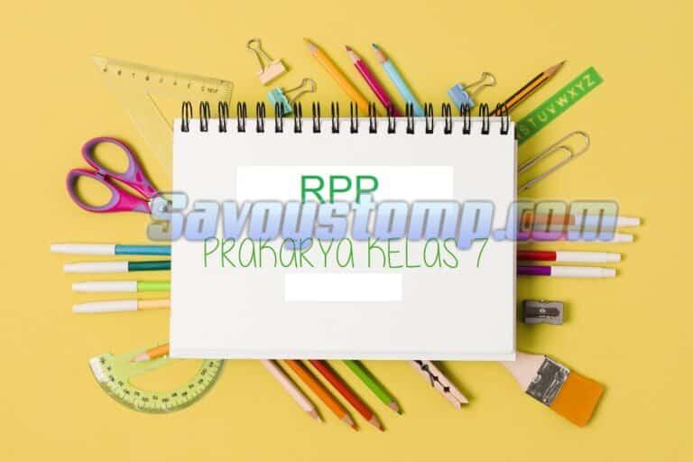 RPP-Prakarya-Kelas-7