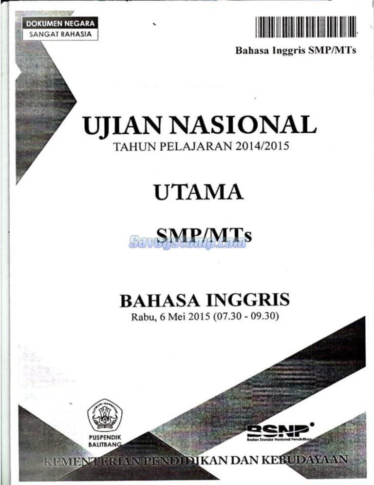 Soal-UN-Bahasa-Inggris-SMP